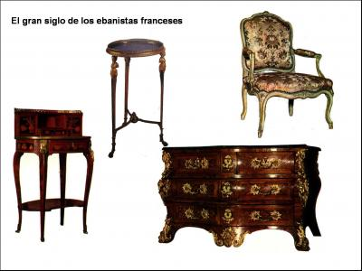Siglo xviii 3 las novedades del mobiliario - Muebles siglo xviii ...